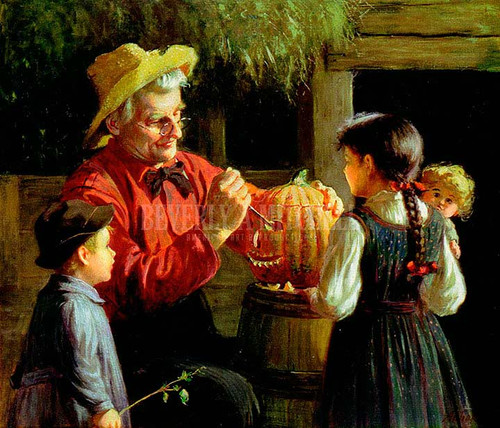 Pumpkin by Abbott Fuller Graves