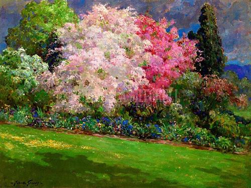 Spring Garden Kennebunkport by Abbott Fuller Graves
