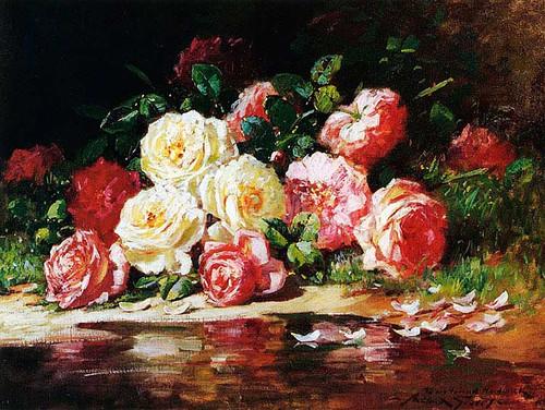 Still Life With Roses by Abbott Fuller Graves