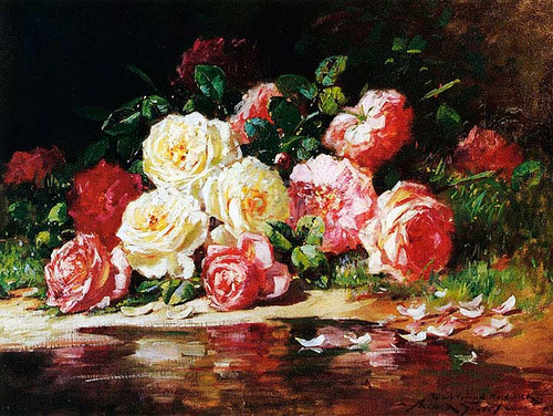 Still Life With Roses by Abbott Fuller Graves