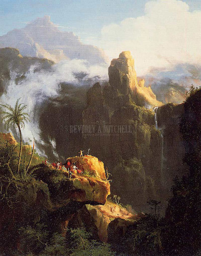 Landscape Composition St John In The Wilderness 1827 by Thomas Cole