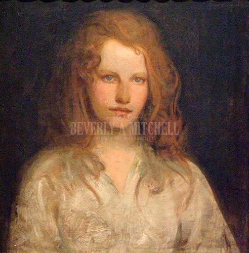 Margaret Mackittrick by Abbott Handerson Thayer