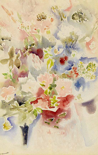 Floral (Also Known As Allover Flower Pattern) by Charles Demuth