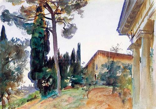 Corfu by John Singer Sargent