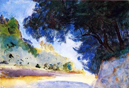 Landscape Olive Trees Corfu by John Singer Sargent