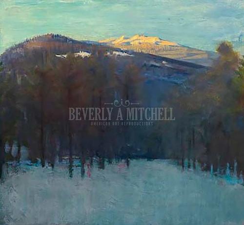 Mount Monadnock by Abbott Handerson Thayer