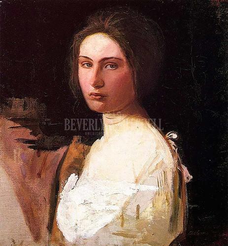 Study Of Alma Wollerman by Abbott Handerson Thayer