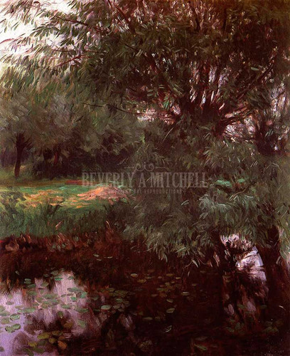 A Backwater At Wargrave by John Singer Sargent