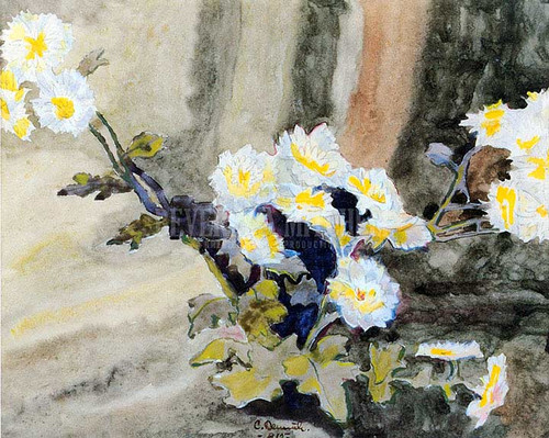 Floral Still Life (Also Known As Wild Daisies) by Charles Demuth