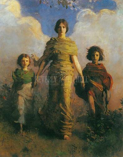 A Virgin by Abbott Handerson Thayer
