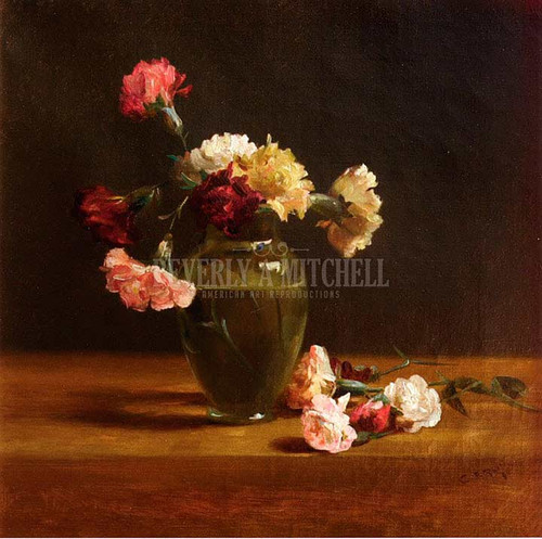 Carnations 2 by Charles Ethan Porter