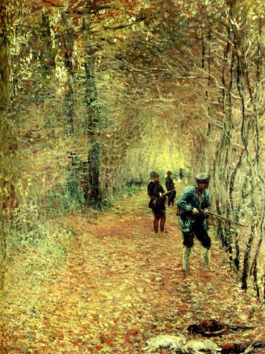 The Shoot by Claude Oscar Monet