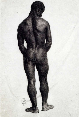 Standing Male Nude by Charles Ethan Porter