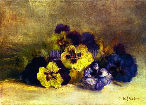 Pansies by Charles Ethan Porter