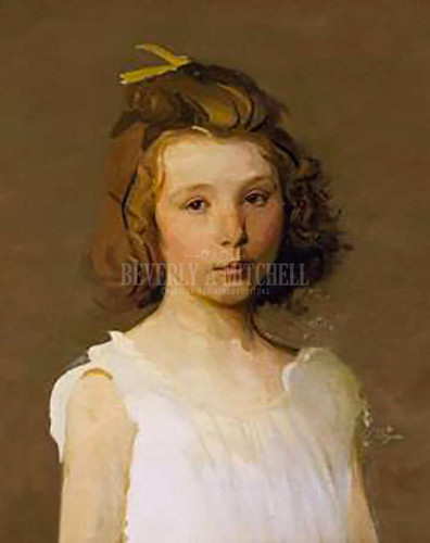 Beatrice by Abbott Handerson Thayer