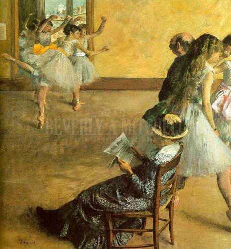 Ballet Class by Edgar Degas