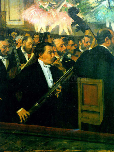 The Orchestra Of The Opera by Edgar Degas