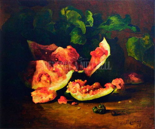 Broken Watermelon by Charles Ethan Porter