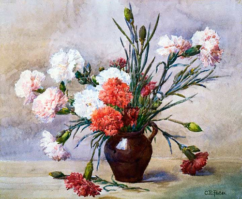 Carnations by Charles Ethan Porter