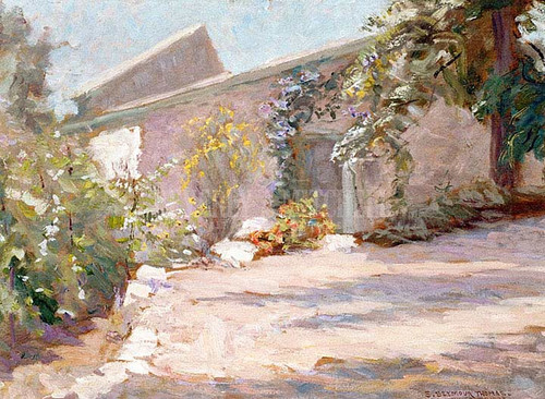 The Studio by Charles H. Woodbury