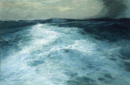 Mid Ocean by Charles H. Woodbury