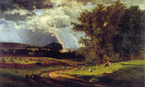 A Passing Shower by George Inness