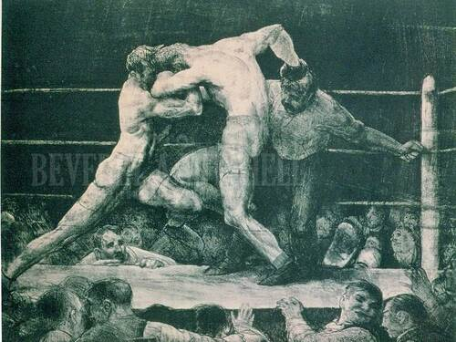 Stag At Sharkey's by George Wesley Bellows