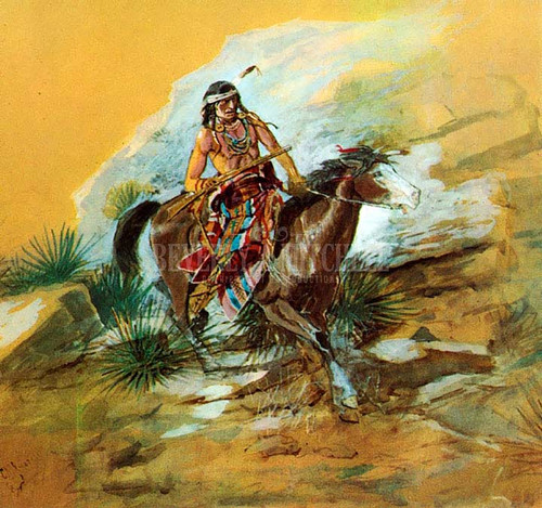 The Crow Scout by Charles Marion Russell