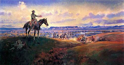 Charles M. Russell And His Friends by Charles Marion Russell