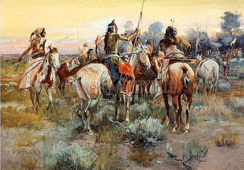 The Truce by Charles Marion Russell