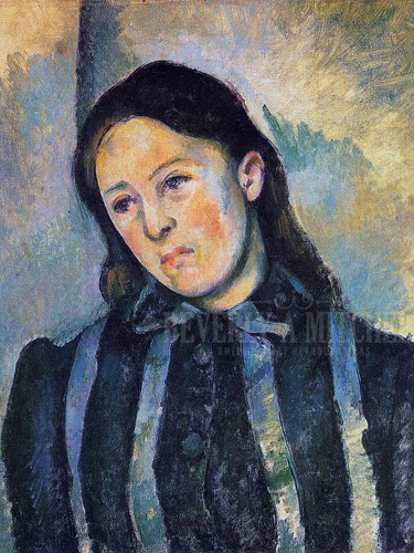 Madame Cezanne by Paul Cezanne