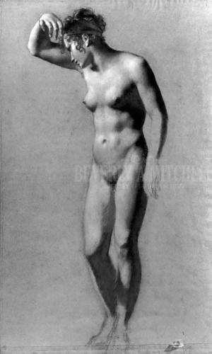 Female Nude by Pierre Paul Prud Hon