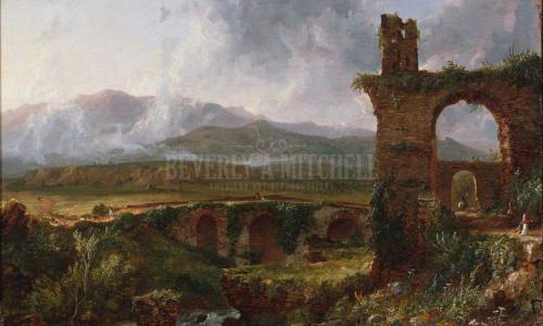 A View Near Tivoli (Morning) by Thomas Cole