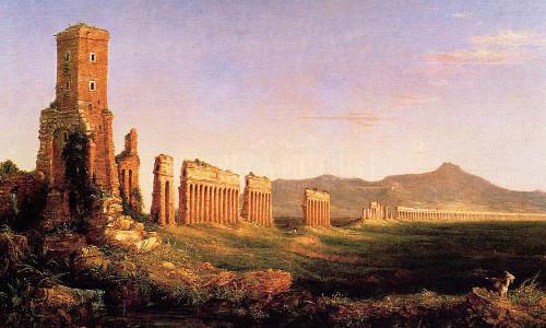 Aqueduct Near Rome by Thomas Cole
