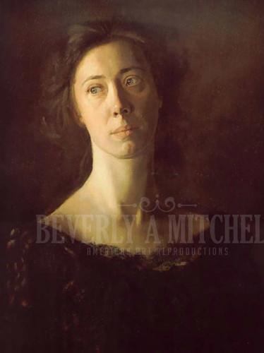 Clara (Clara J. Mather) by Thomas Eakins