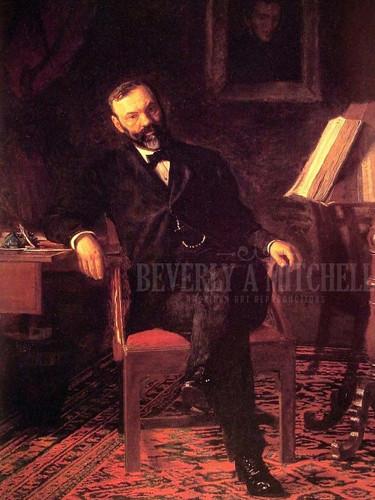 Dr John H. Brinton by Thomas Eakins