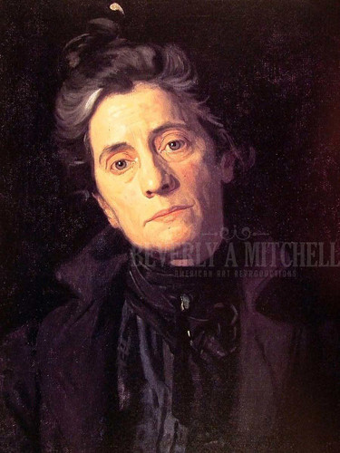 Mrs Thomas Eakins by Thomas Eakins