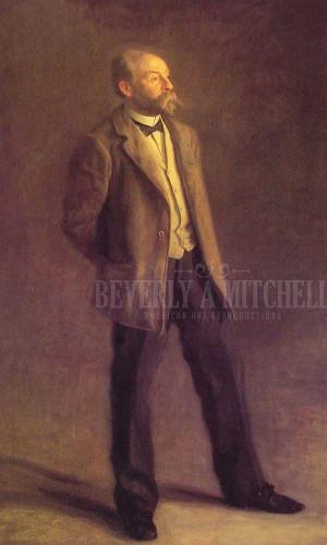 John Mcclure Hamilton by Thomas Eakins