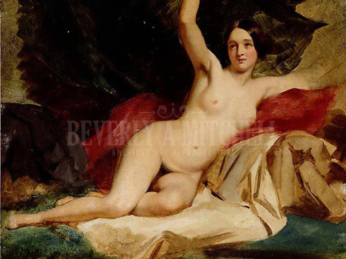 Female Nude In A Landscape by William Etty