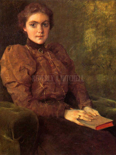 A Lady In Brown by William Merritt Chase