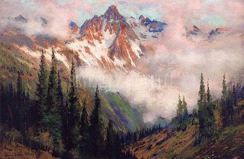 Mount Sneffels San Juan Colorado by Charles Partridge Adams