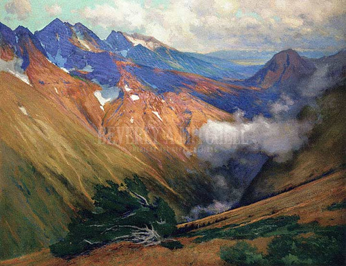 In The Vicinity Of Ouray by Charles Partridge Adams