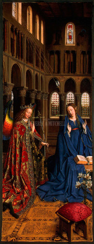 The Annunciation By Eyck Jan Van