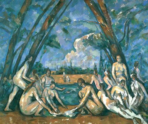Large Bathers By  Cezanne Paul