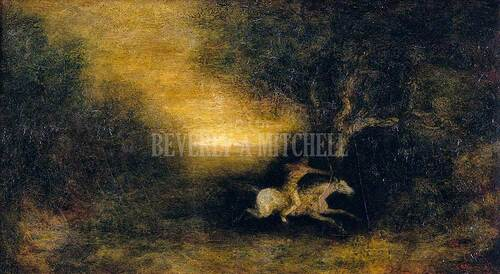 The Chase By Blakelock Ralph Albert