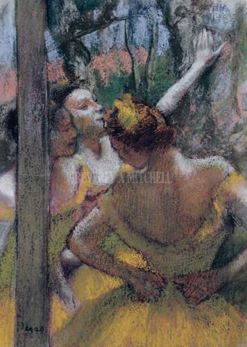 Ballet Girls By Degas Edgar