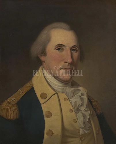 George Washington 2 by Charles Willson Peale
