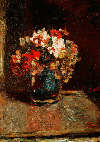 Bouquet By Monticelli Adolphe