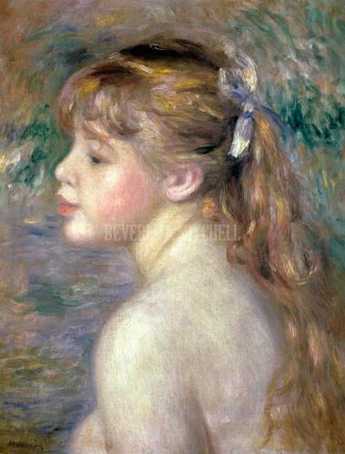 Head Of A Child By Renoir Pierre Auguste