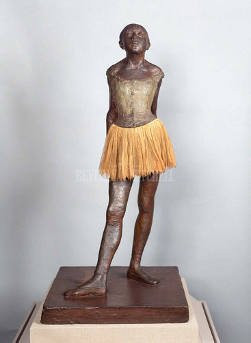 Little Dancer Aged Fourteen By Degas Edgar